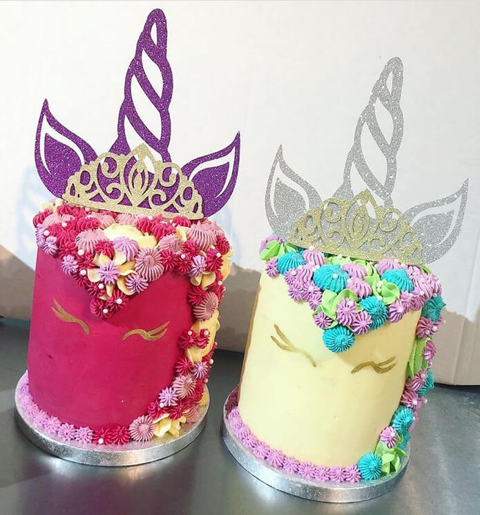 Magnificent Unicorn Horn Tiara Sparkling Cake Topper Cut N Craft Co Uk Funny Birthday Cards Online Aboleapandamsfinfo